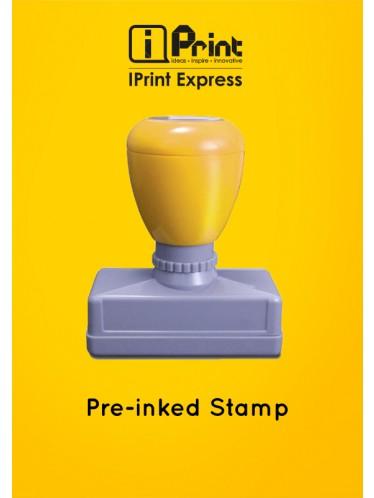 Pre-inked Stamp