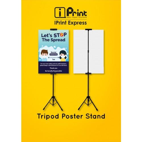 Tripod Poster Stand