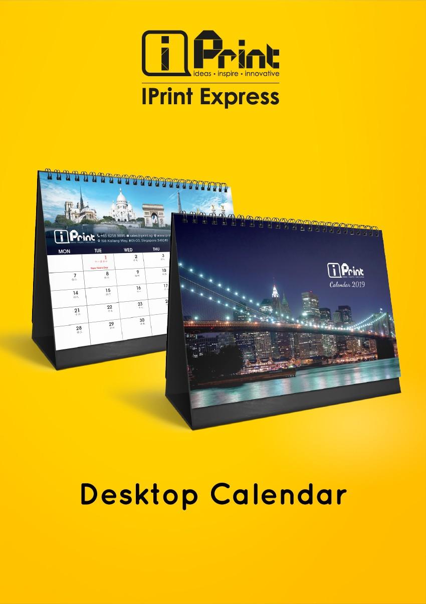 Desktop Calendar 2018