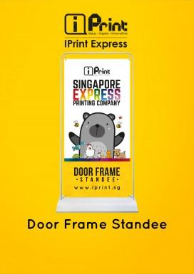 Door Frame Standee