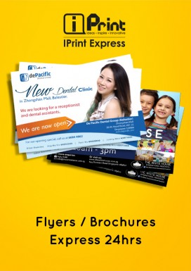 Flyers / Brochures - Express 24hrs