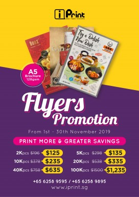 Flyers / Brochures - Promotions