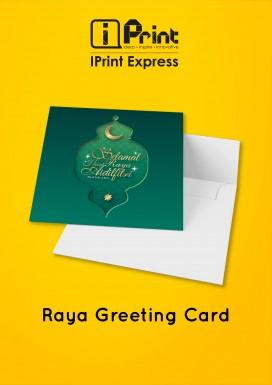 Hari Raya Greeting Card