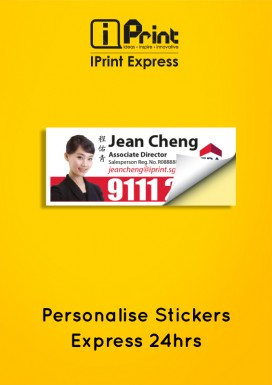 Personalise Stickers - Express 24hrs