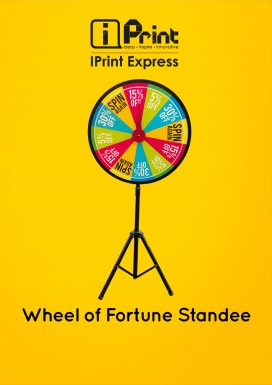 Wheel of Fortune Standee