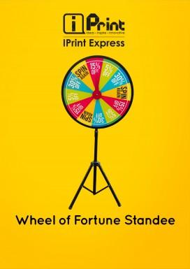 Wheel of Fortune Standee